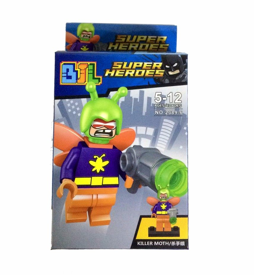 Bloco de Montar Super Heroes: Killer Moth Small Blocks - JBL