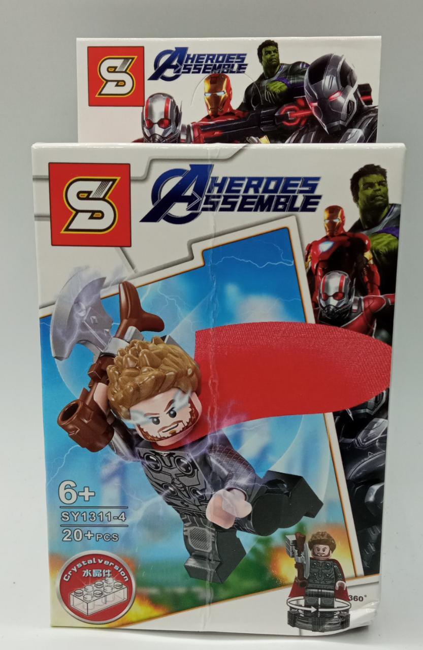 Bloco de Montar Thor: Vingadores Ultimato (SY1311-4) - (20 Peças)
