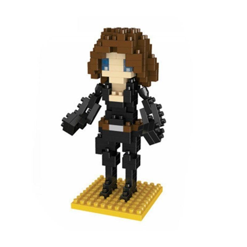"""Bloco De Montar ''Viúva Negra"""" (Black Widow) - Marvel  (160pcs)"""