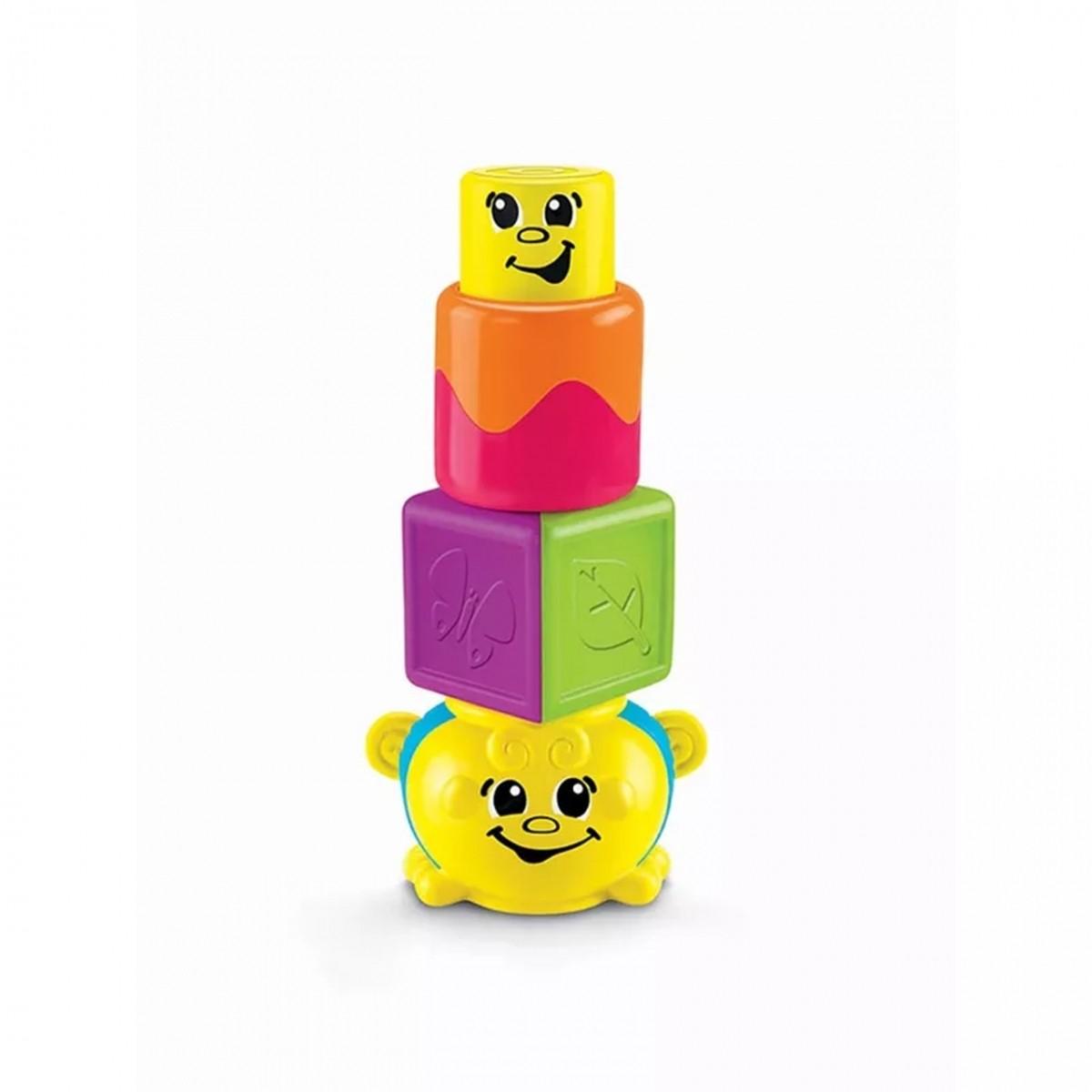 Blocos Divertidos: Abelha Divertida (Amarelo)