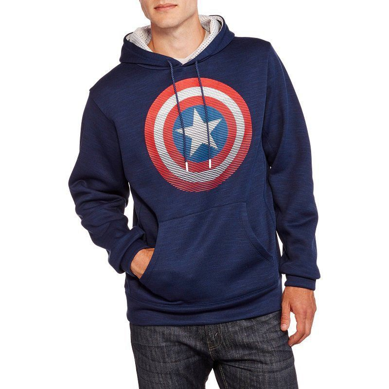 Blusa Marvel: Captain America Moletom - BioWorld
