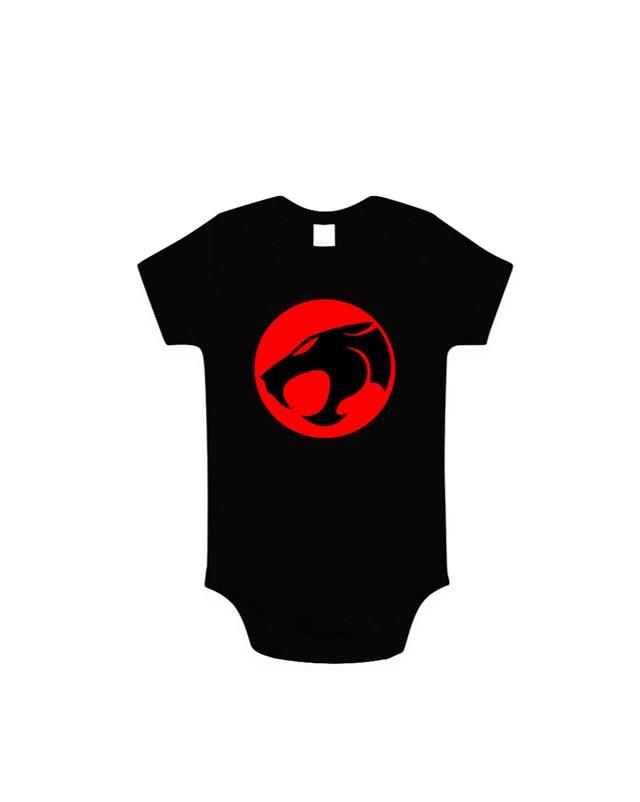 Body Bebê Geek Olho de Tandera: Thudercats Preto
