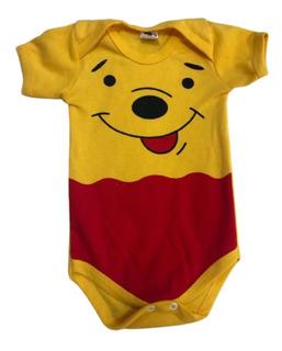 Body Bebê Geek Ursinho Pooh: As Pequenas Aventuras de Winnie the Pooh - Disney