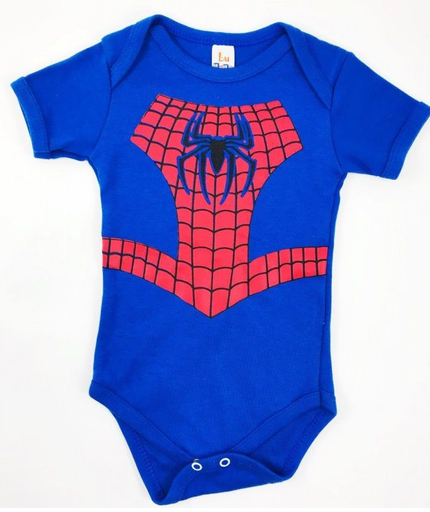 Body Bebe Homem-Aranha