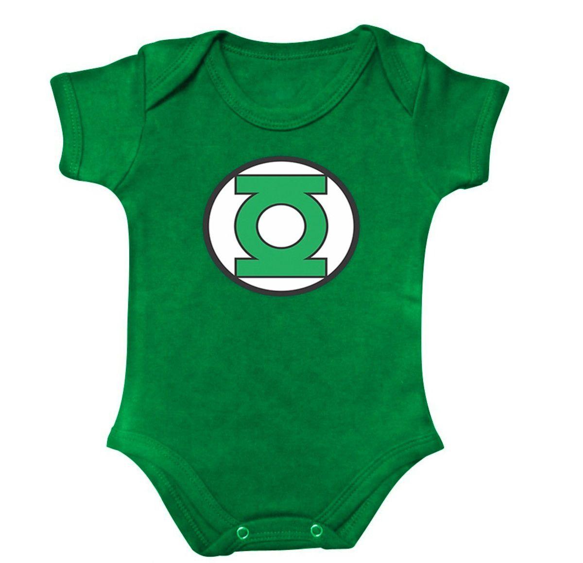 Body Bebe Lanterna Verde