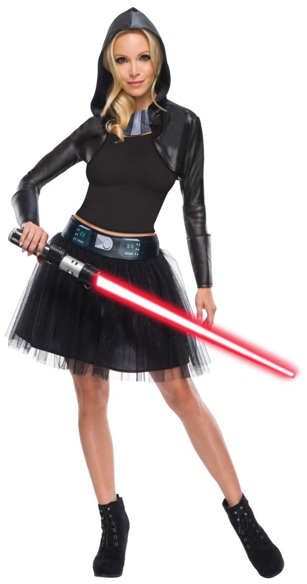 Fantasia Feminino Bolero Darth Vader: Guerra Nas Estrelas Star Wars Adulto
