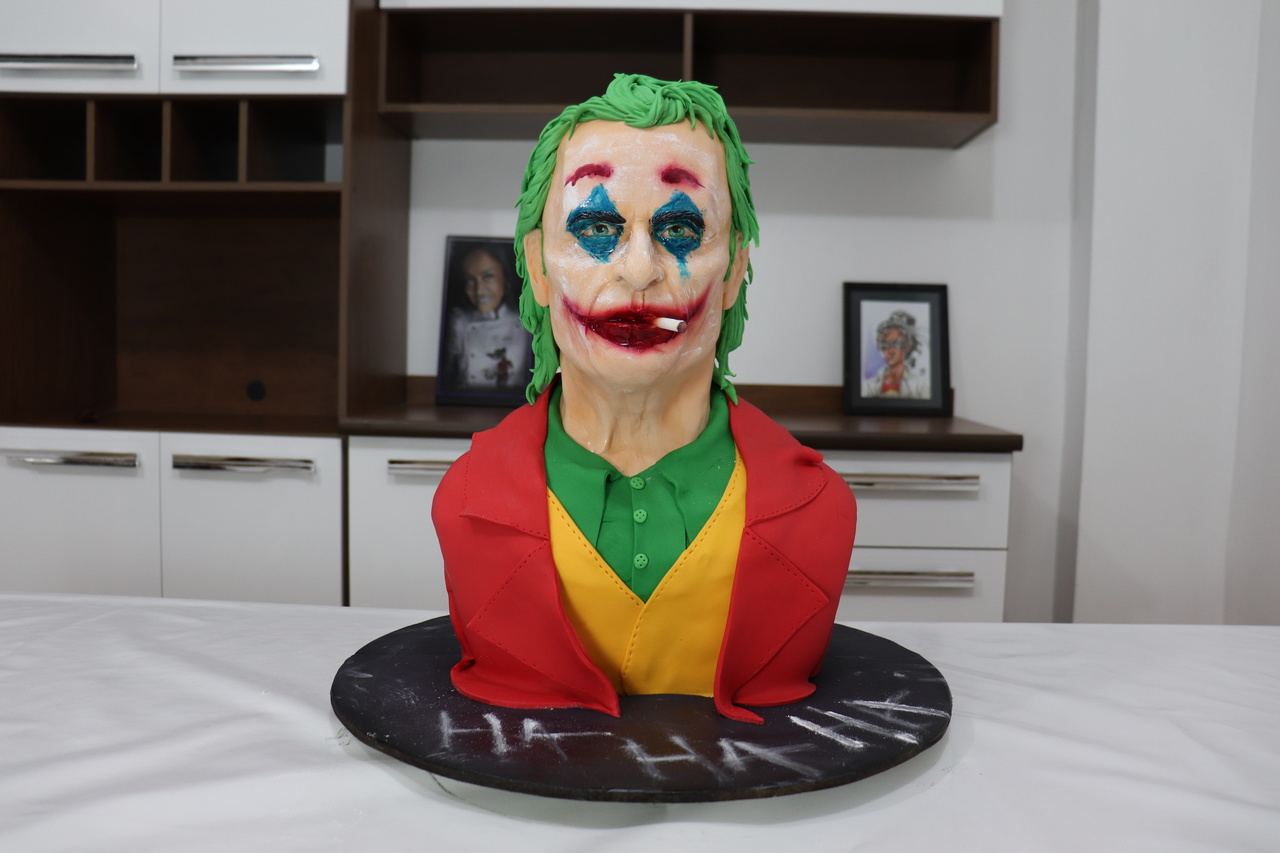 Bolo Coringa Joker: Batman DC - Geek Cake - EV