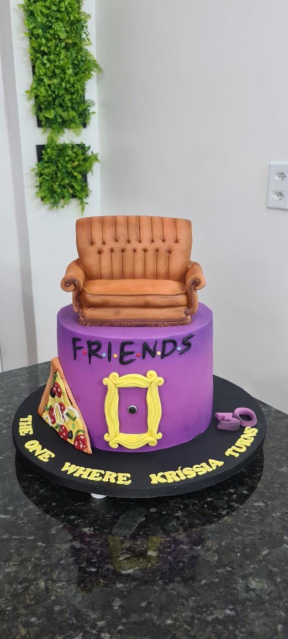 Bolo Friends - Geek Cake - EV