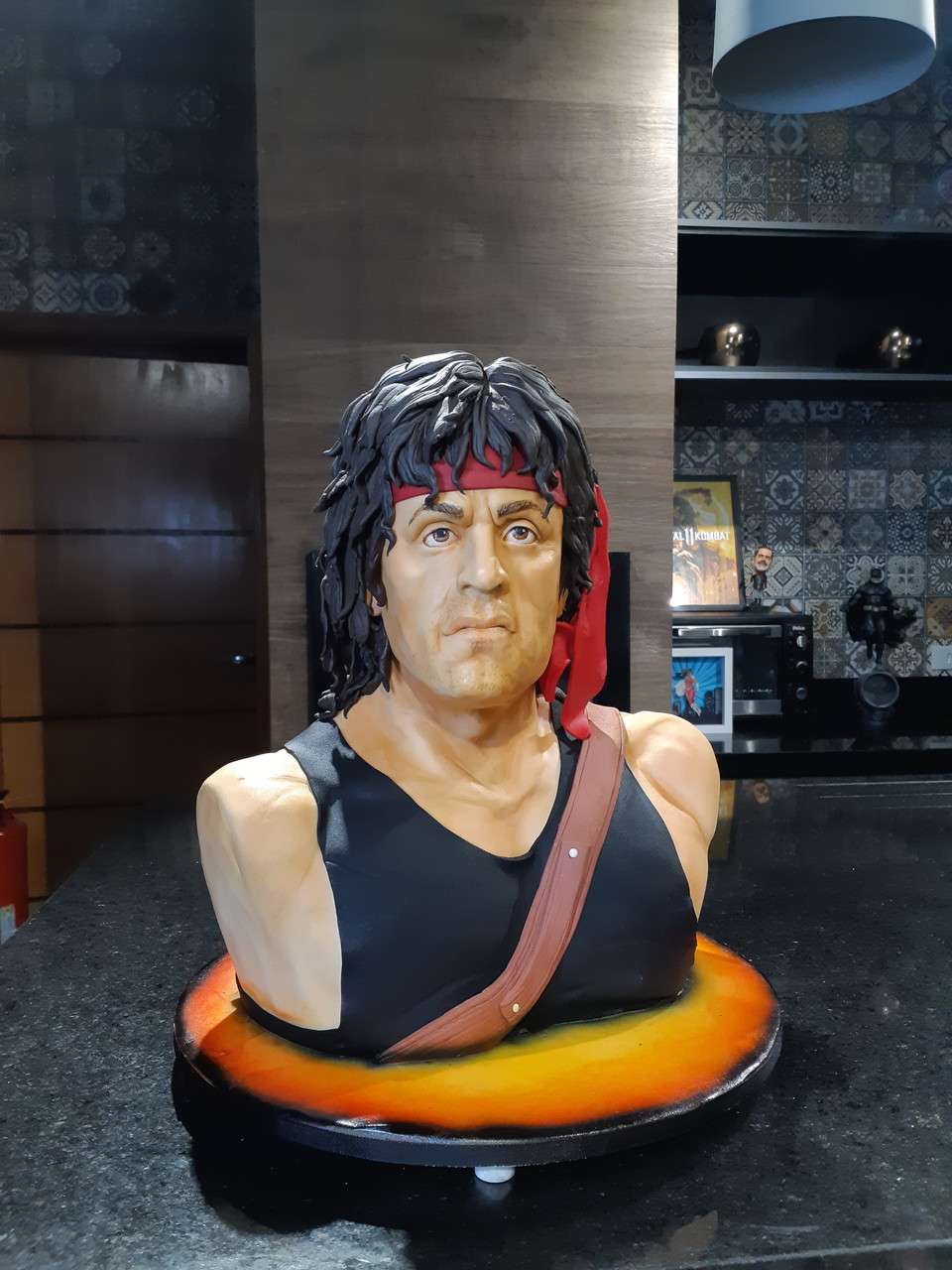 Bolo Sylvester Stallone John Rambo: Rambo - Geek Cake - EV