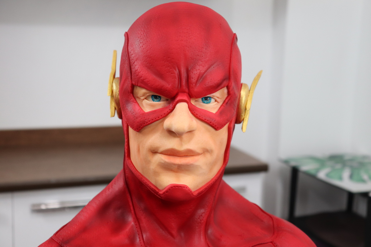 Bolo The Flash: DC Comics - Geek Cake - EV