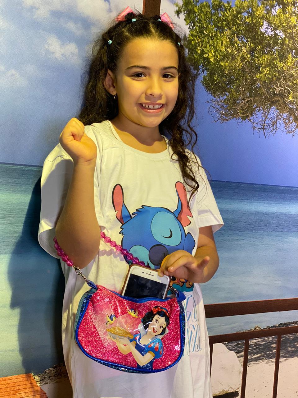 Bolsa Branca De Neve - Disney