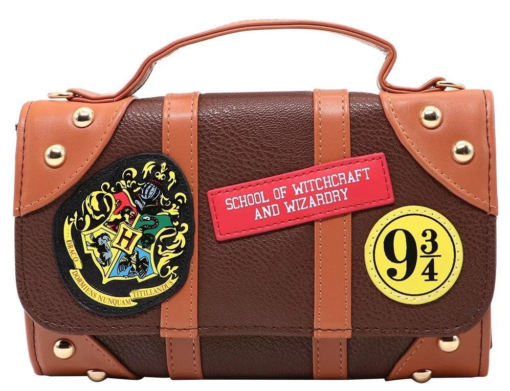 Bolsa Carteira Hogwarts: Harry Potter