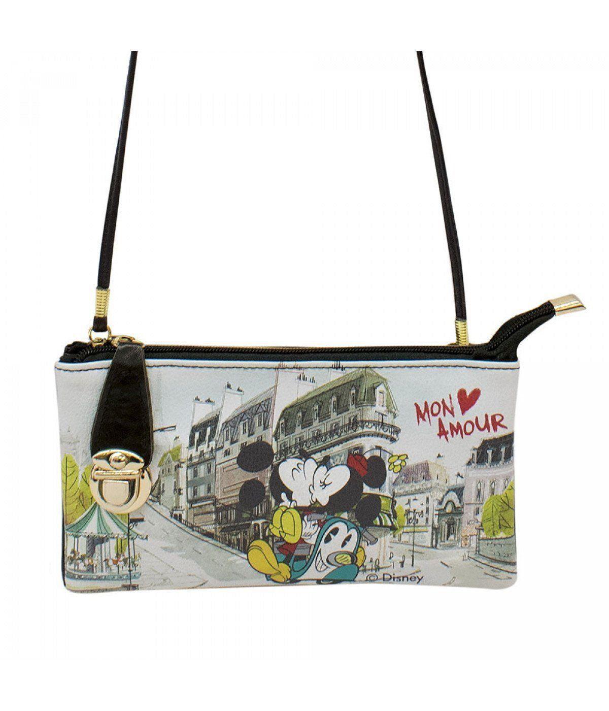 Bolsa Carteira Mickey & Minnie Romance Em Paris: Disney