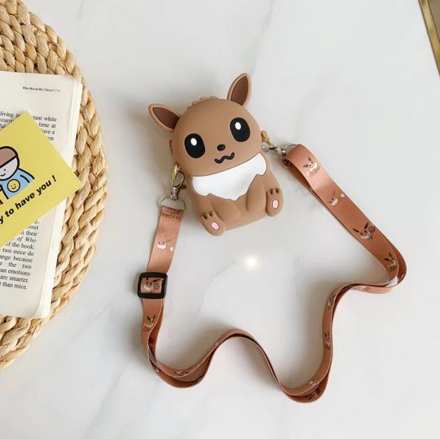 Bolsa de Ombro Shoulder Bag Unissex Eevee: Pokémon Anime Mangá - EVALI