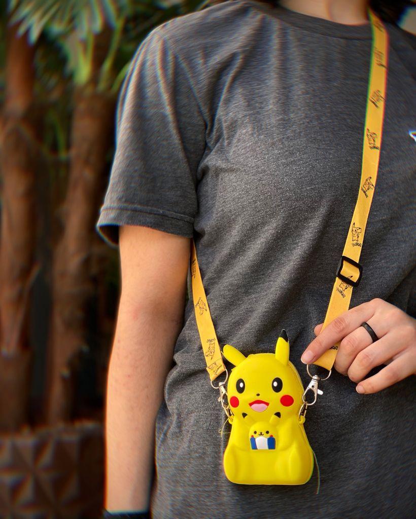 Bolsa de Ombro Shoulder Bag Unissex Pikachu: Pokémon Anime Mangá - MKP