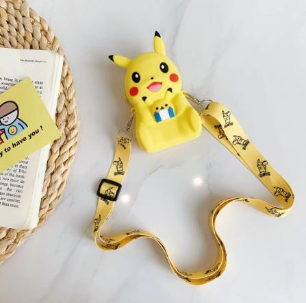 Bolsa de Ombro Shoulder Bag Unissex Pikachu: Pokémon Anime Mangá - EVALI