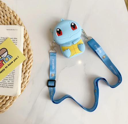 Bolsa de Ombro Shoulder Bag Unissex Squirtle: Pokémon Anime Mangá - EVALI