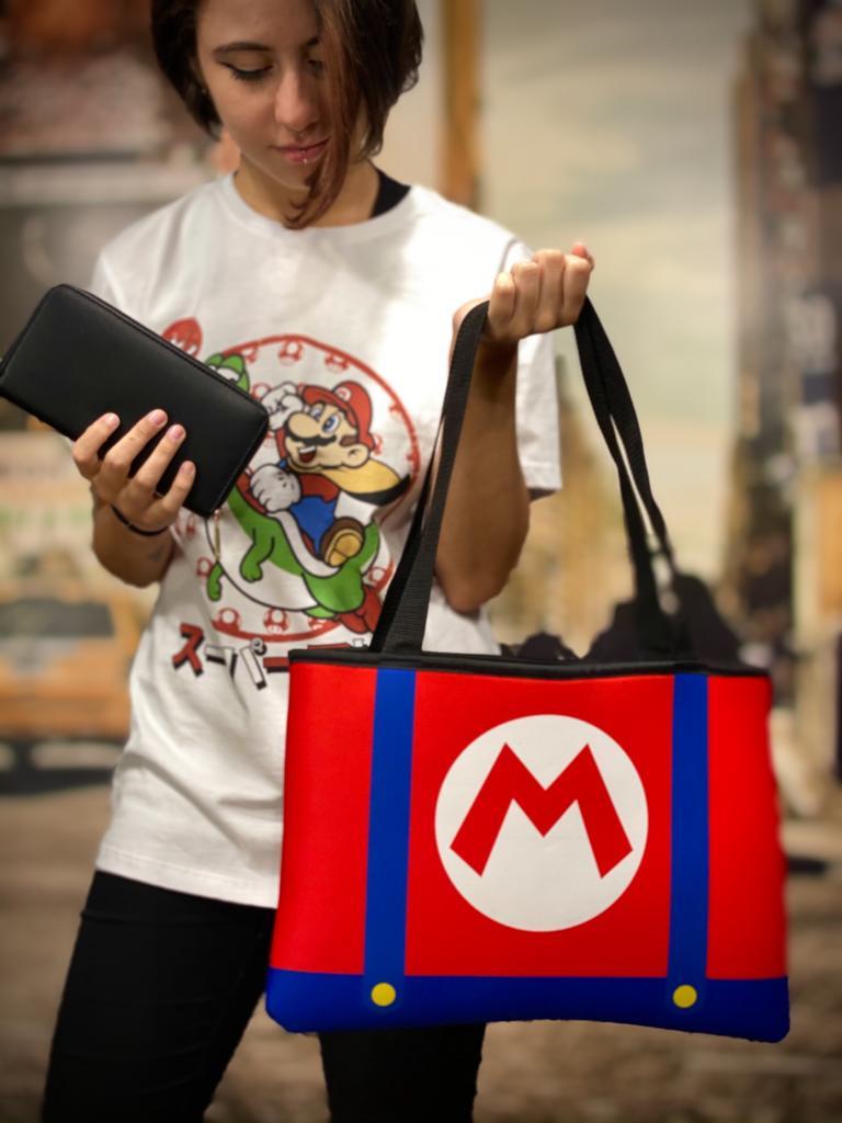 Bolsa Ecobag Logo Mario: Super Mario Bros - Neoplex