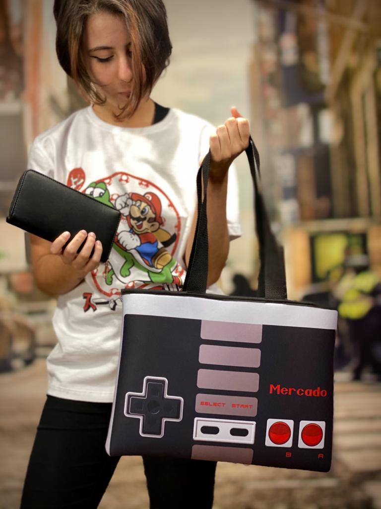 Bolsa Feminina Neopreme: Nintendo (Nes)