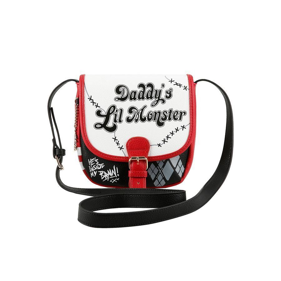 Bolsa Harley Quinn: Daddy's Lil Monster - Hot Topic