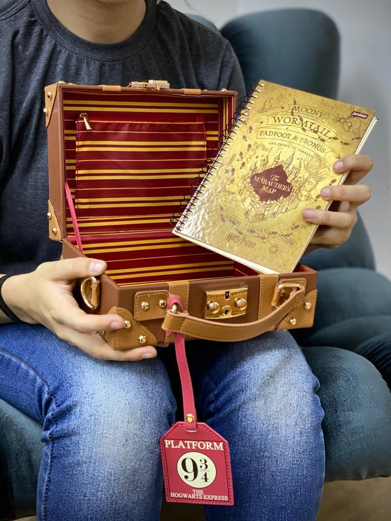Bolsa Maleta Hogwarts (Plataforma 9 3/4): Harry Potter