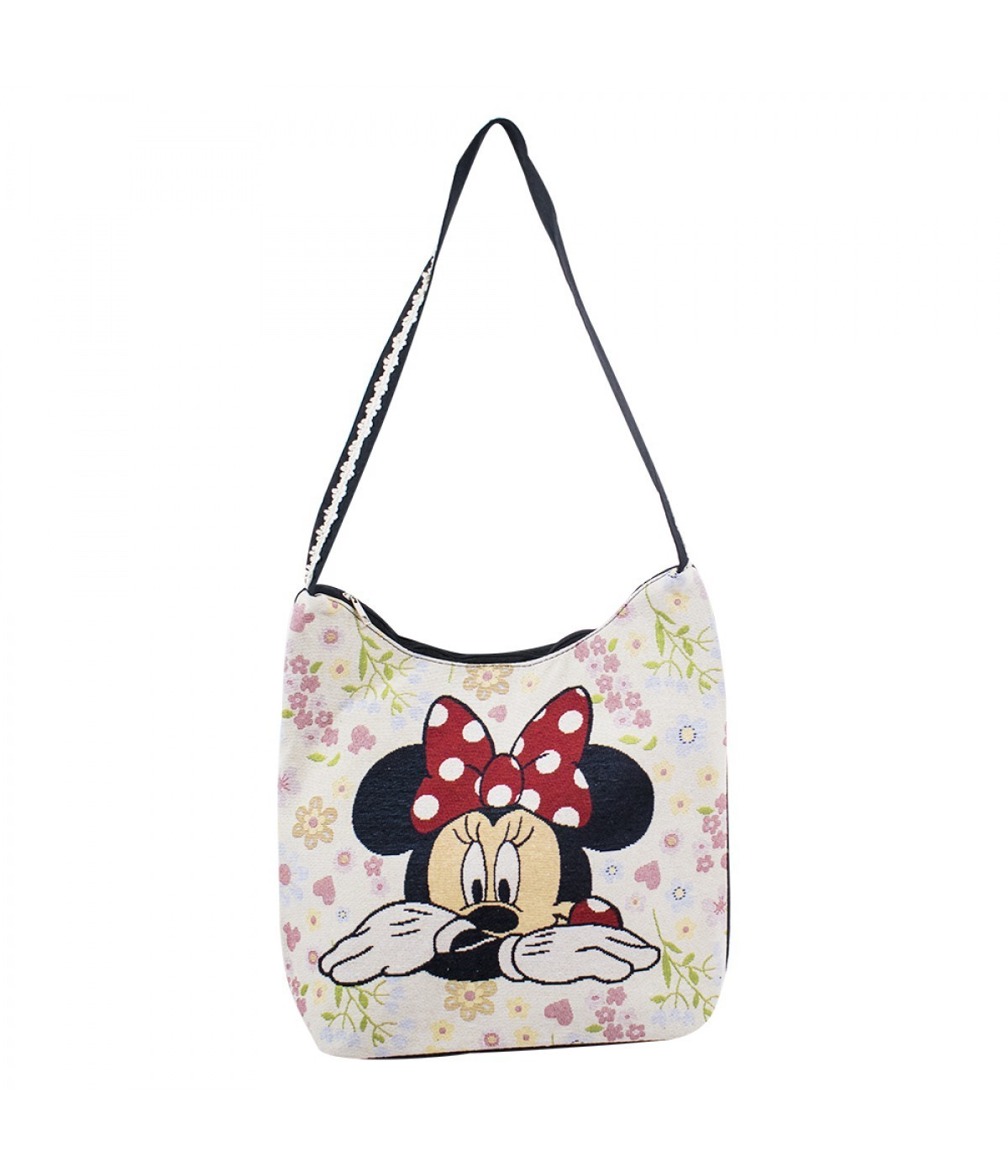 Bolsa Mickey e Minnie Mouse (Hobo) - Disney