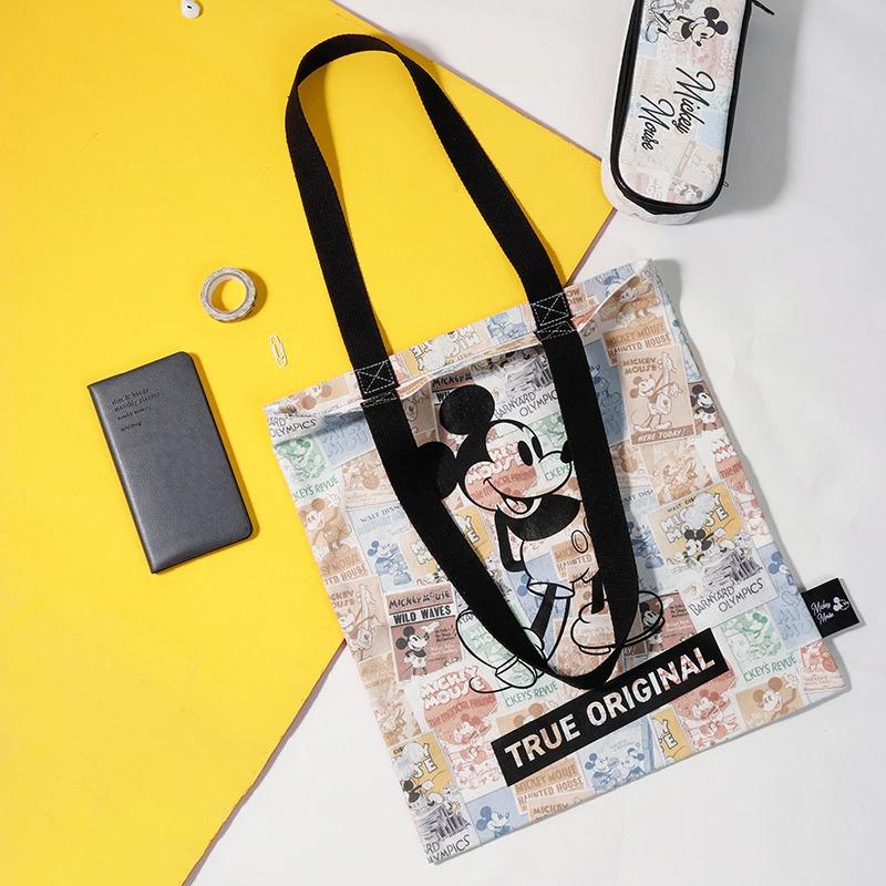 Bolsa Mickey e Minnie Mouse True Original Lona Tote Disney - EVALI