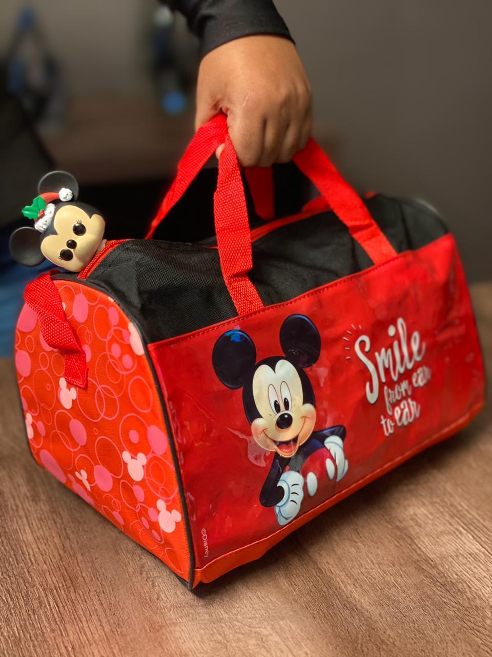 "Bolsa Mickey ""Smile"" (Grande)"