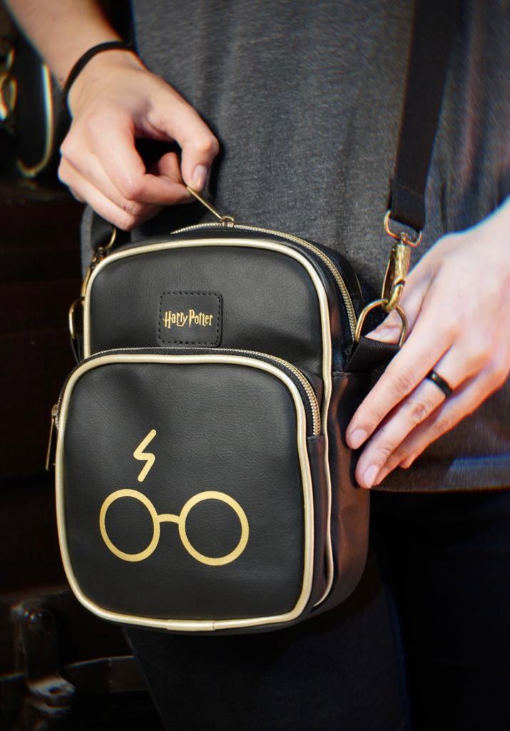 Bolsa Mini Mochila Shoulder Bag Raio: Harry Potter