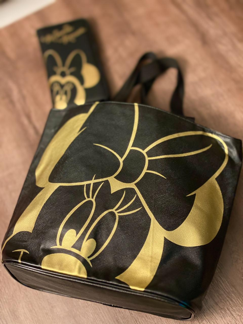Bolsa Minnie (Dourado) - Disney