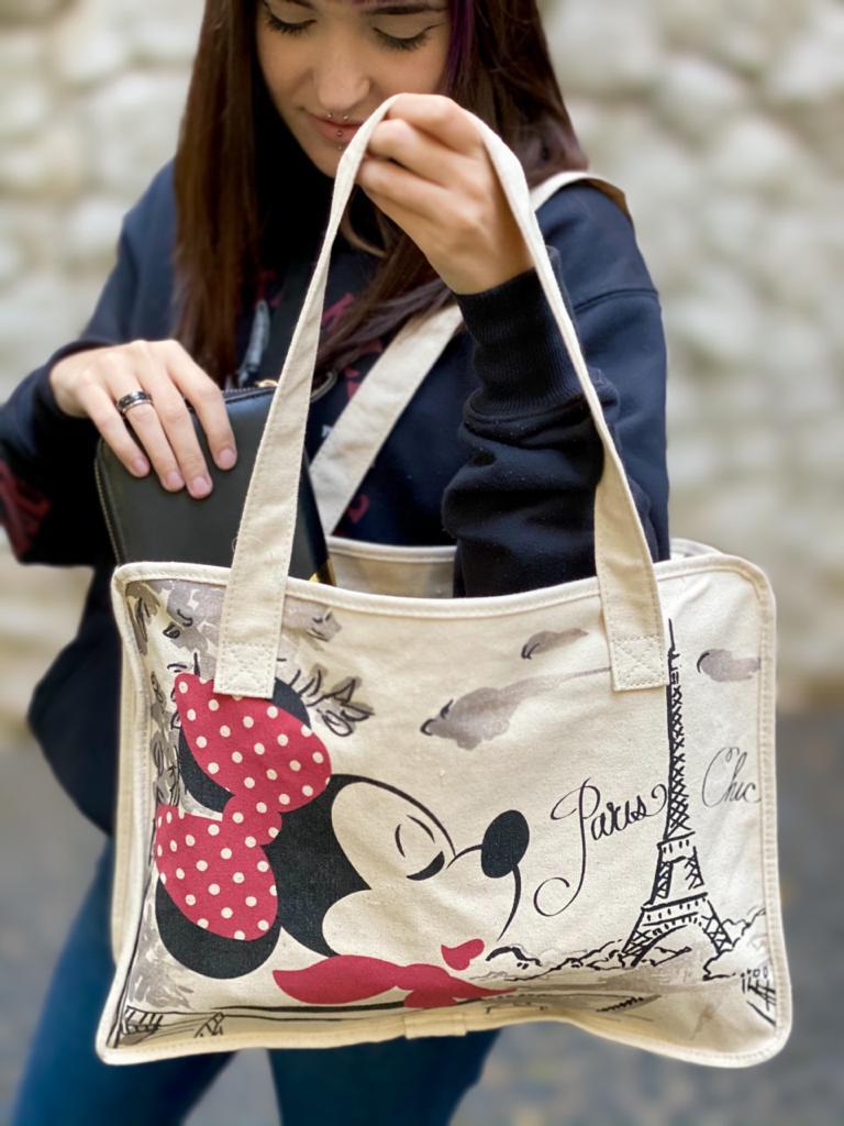 """Bolsa Minnie """"Paris Chic"""": Disney"""