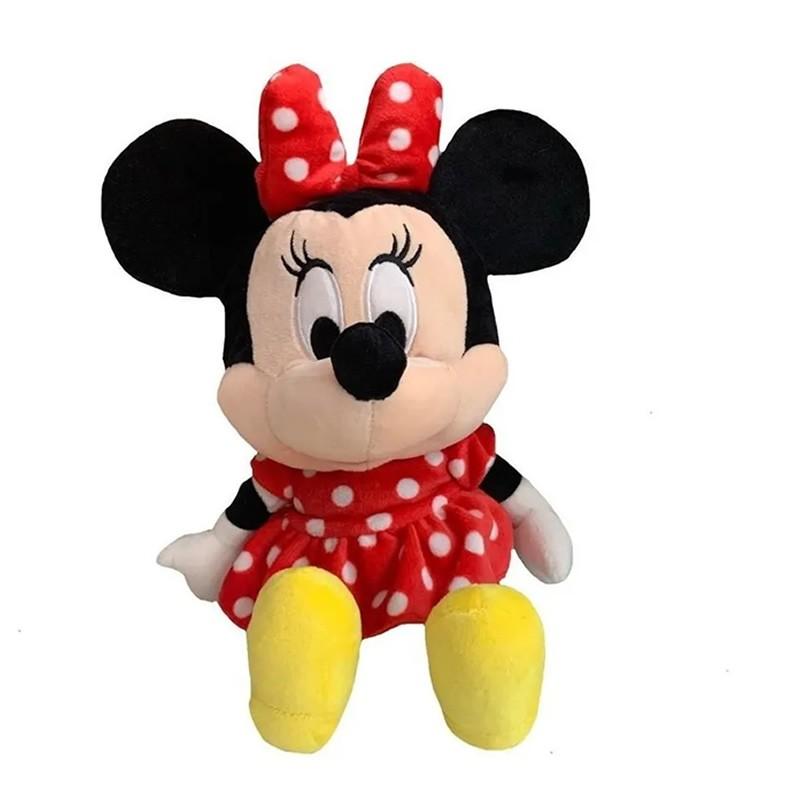 Bolsa/Mochila Pelucia Minnie - Disney