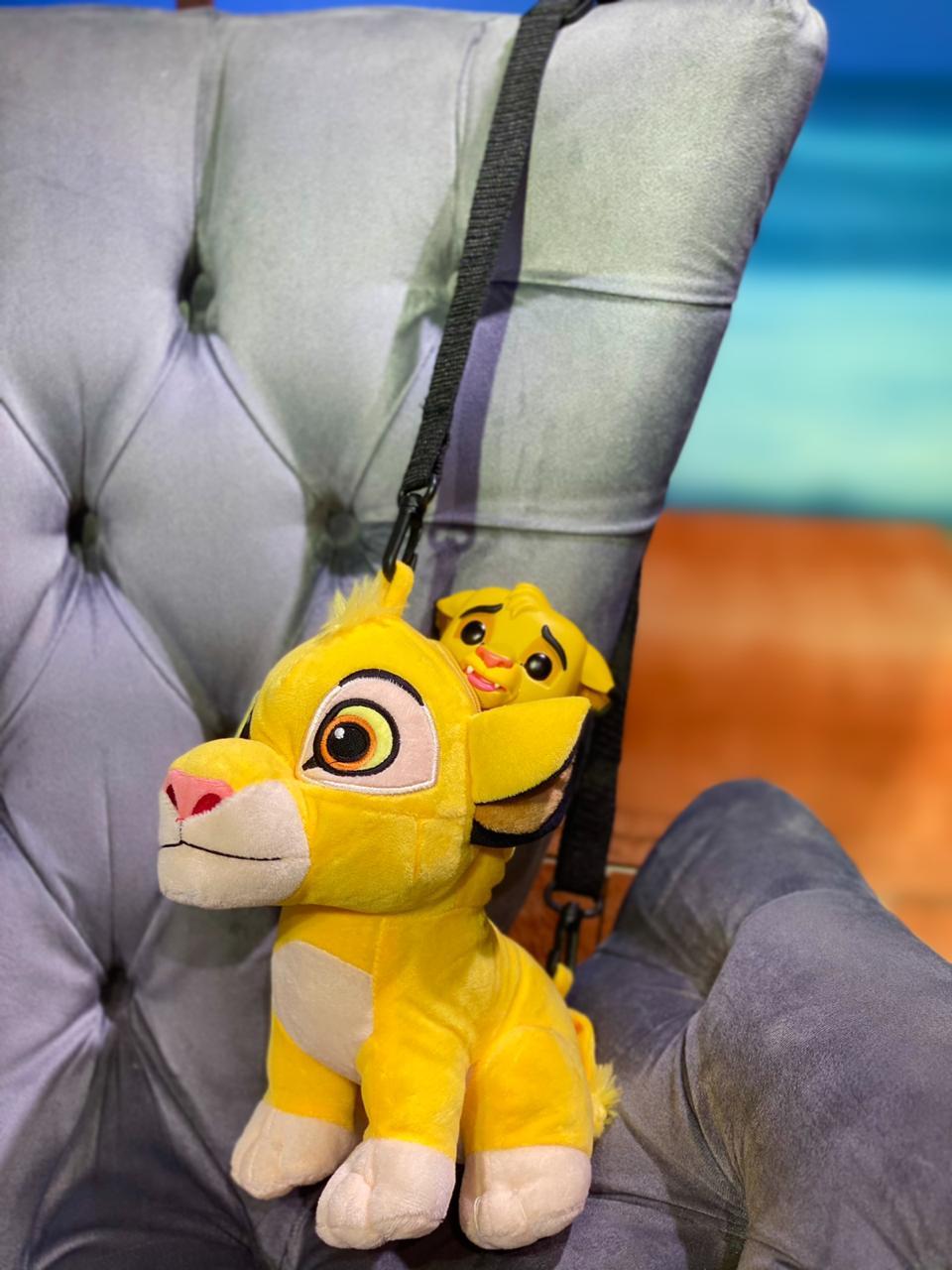 Bolsa/Mochila Simba: Rei Leão - Disney