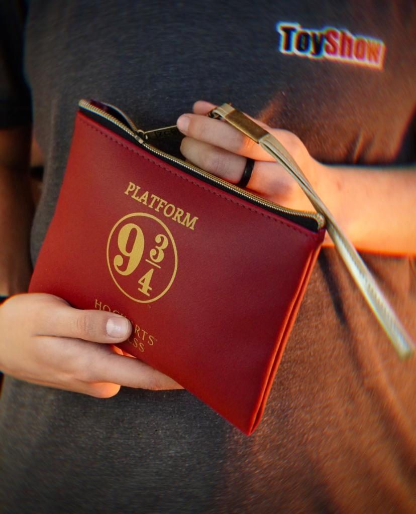 Bolsa Nécessaire Carteira Hogwarts Plataforma 9 3/4: Harry Potter