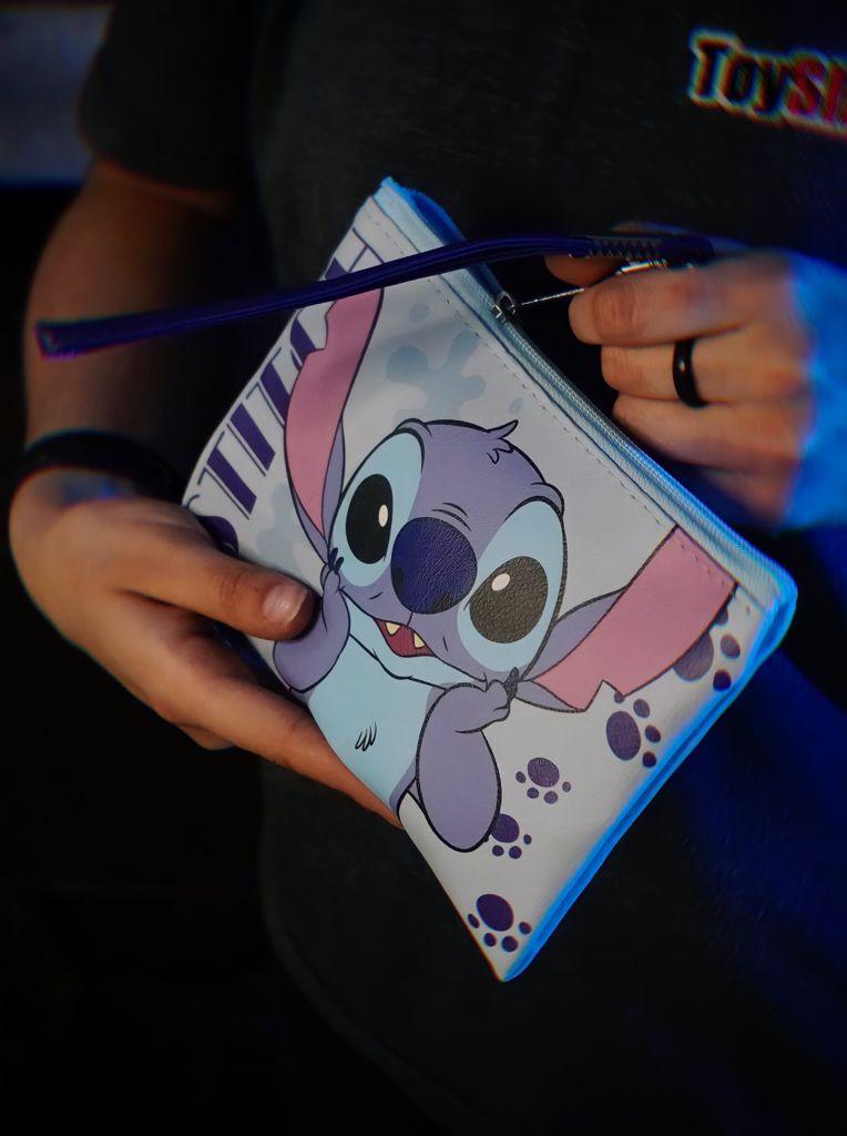 Bolsa Nécessaire Carteira Stitch: Lilo e Stitch Disney - Zona Criativa