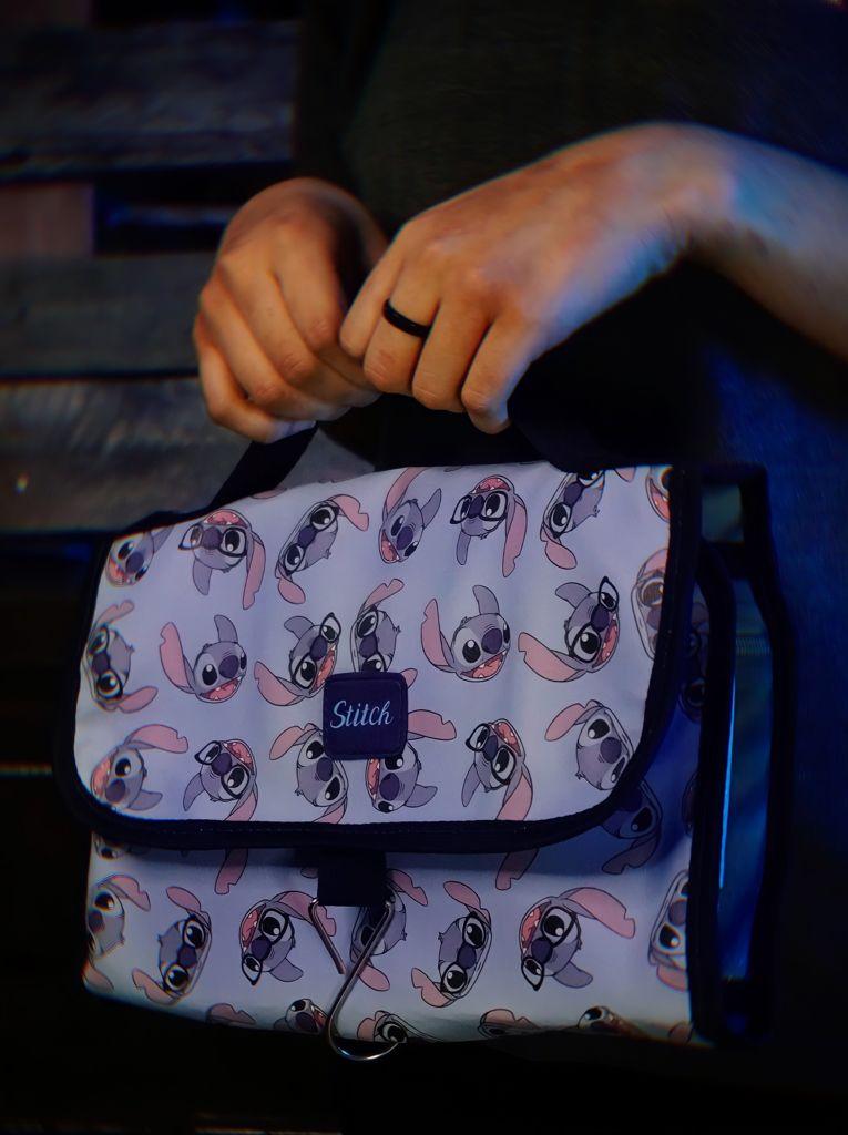 Bolsa Nécessaire Estojo de Maquiagem Stitch: Lilo e Stitch Disney - Zona Criativa