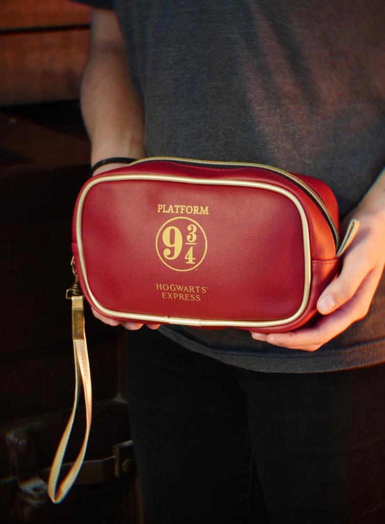 Bolsa Nécessaire Hogwarts Plataforma 9 3/4: Harry Potter