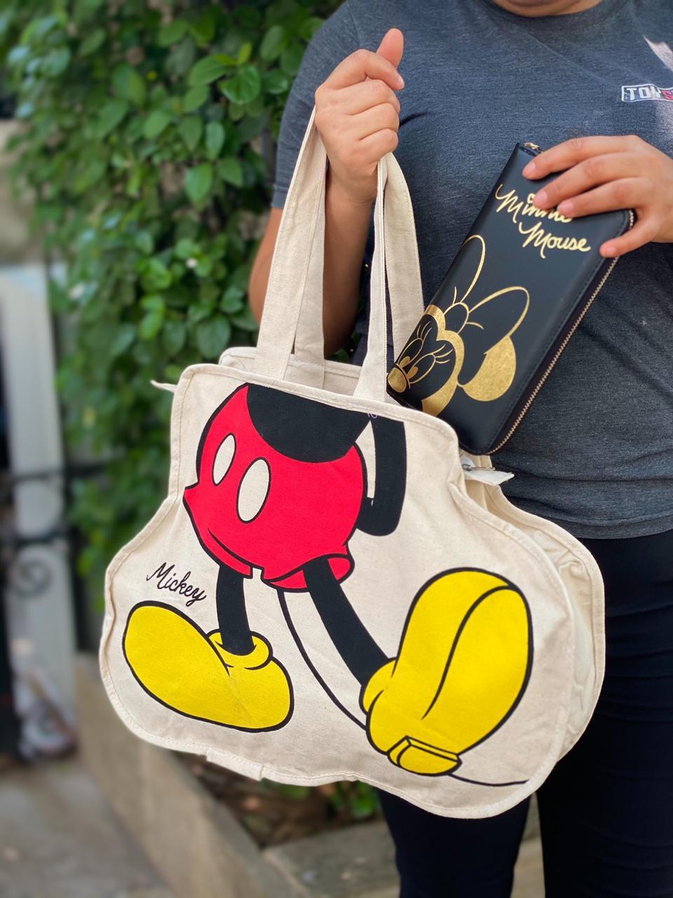 Bolsa Pernas Mickey: Mickey e Minnie - Disney