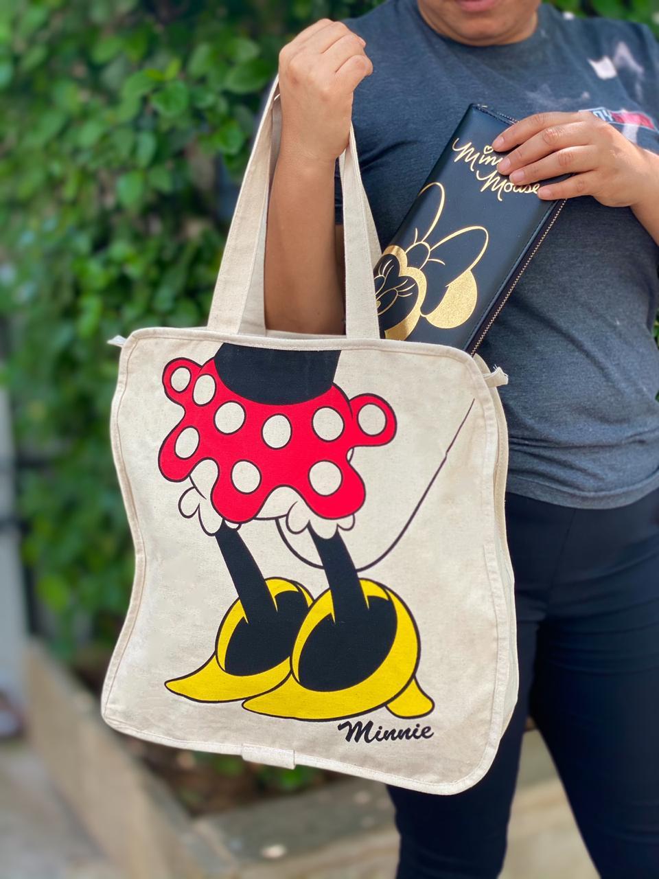 Bolsa Pernas Minnie: Mickey e Minnie - Disney
