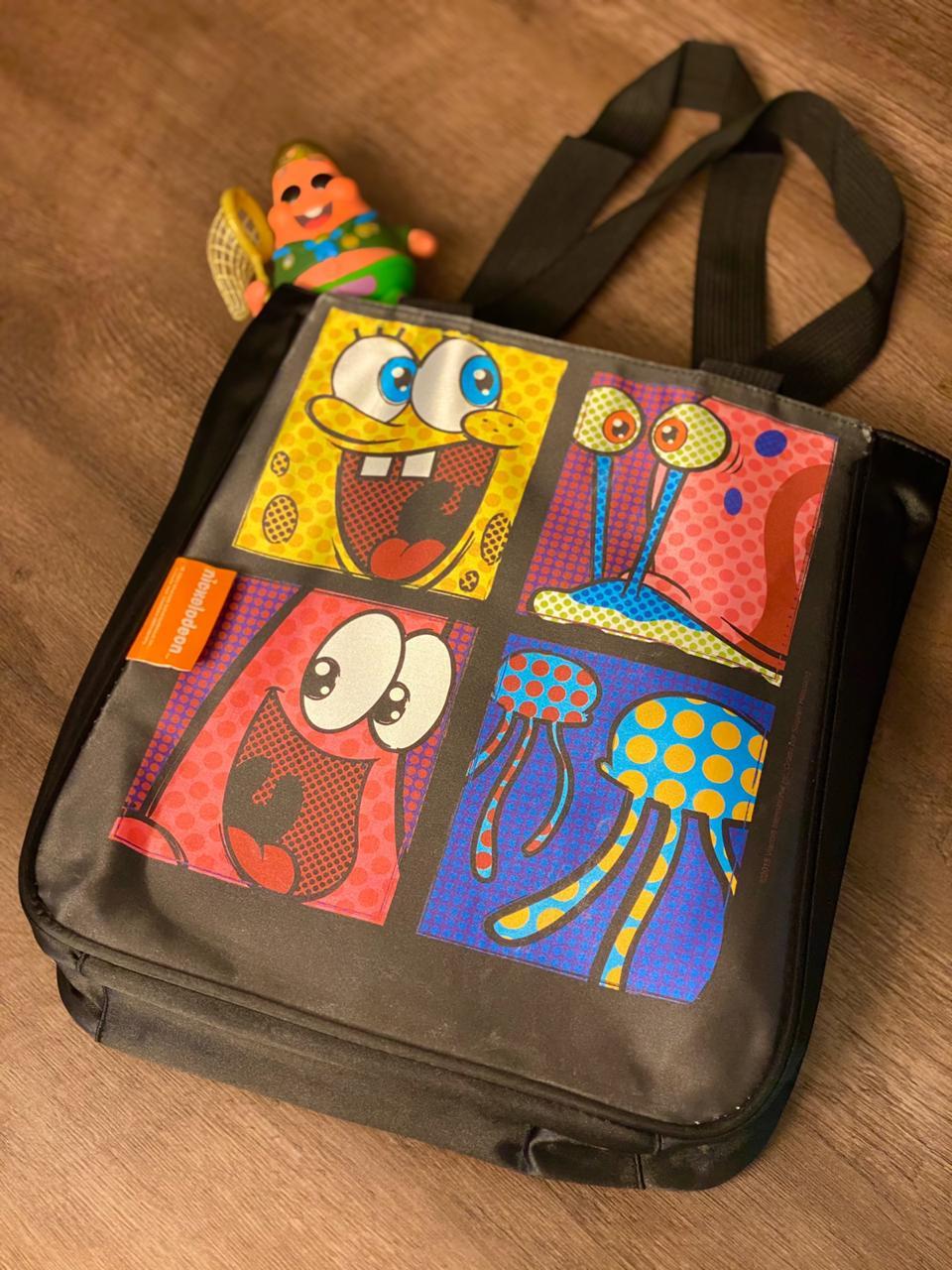 Bolsa Preta Bob Esponja: Nickelodeon