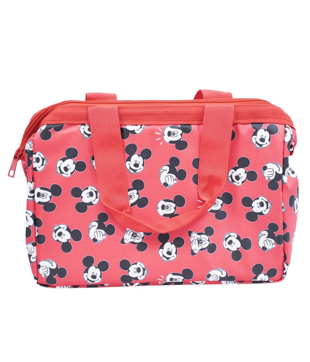 Bolsa Térmica Mickey e Minnie Mouse Vermelho - Disney