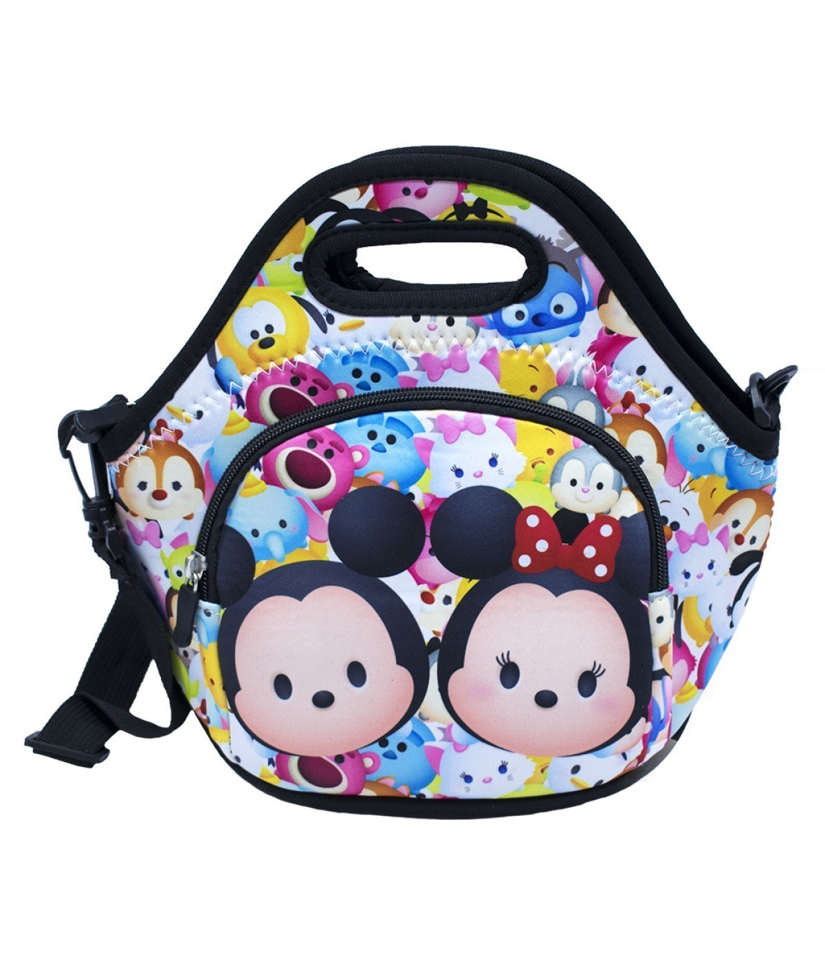 Bolsa Térmica Mickey Minnie Tsumtsum e Personagens: Disney