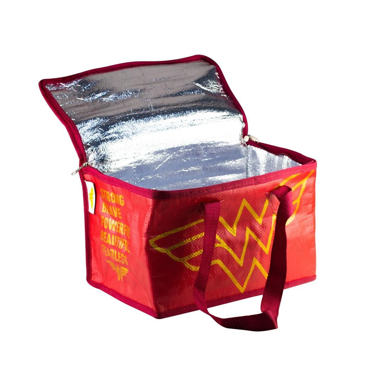 Bolsa Térmica: Mulher Maravilha ( Wonder Woman ) Logo - Urban
