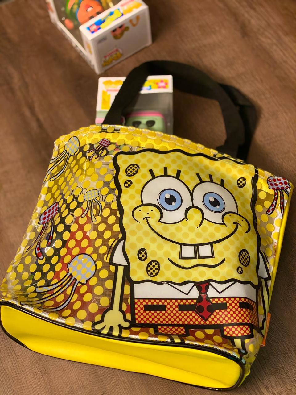 Bolsa Transparente Bob Esponja (Grande): Nickelodeon