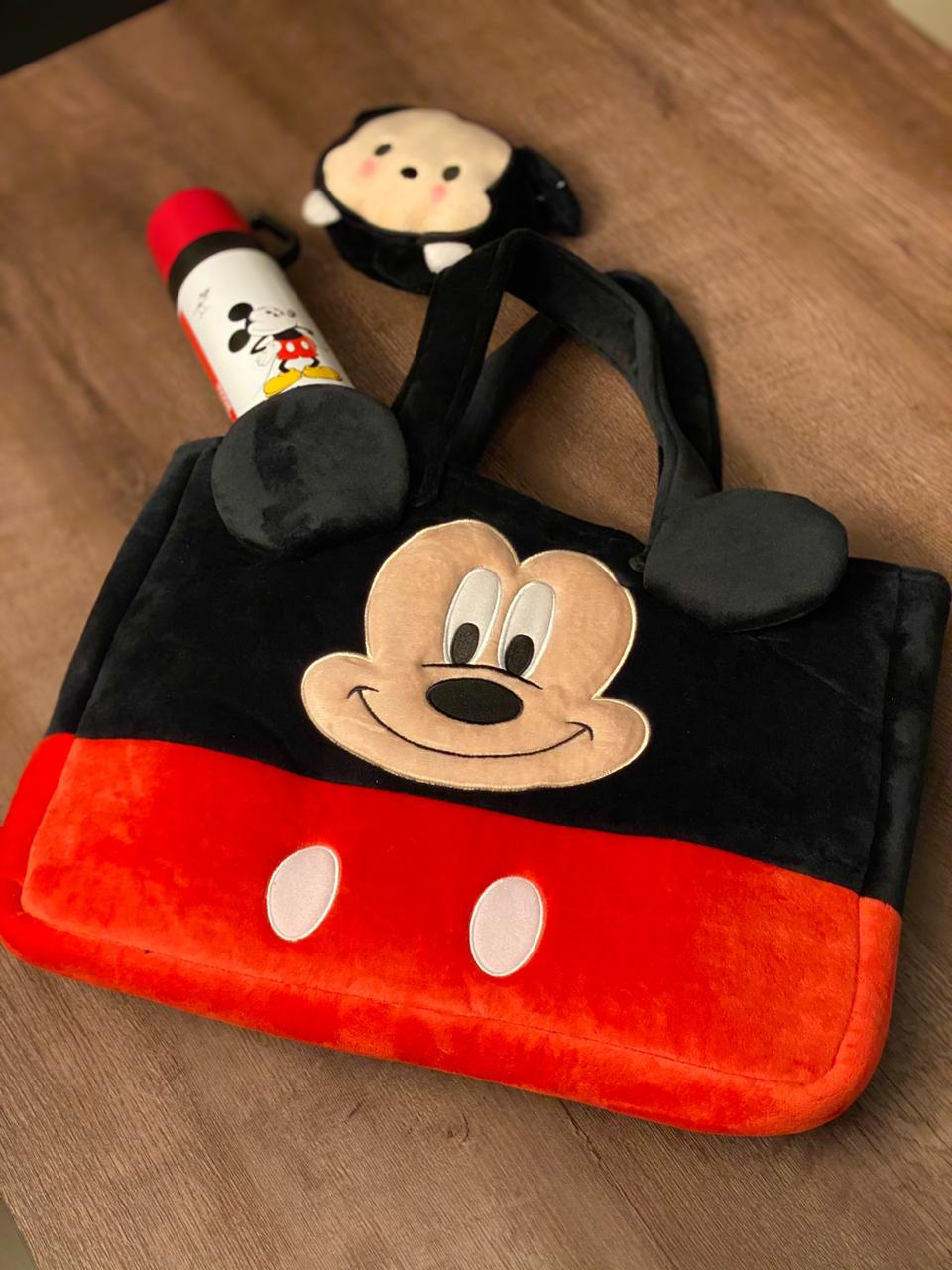 Bolsa Veludo Mickey (Grande)