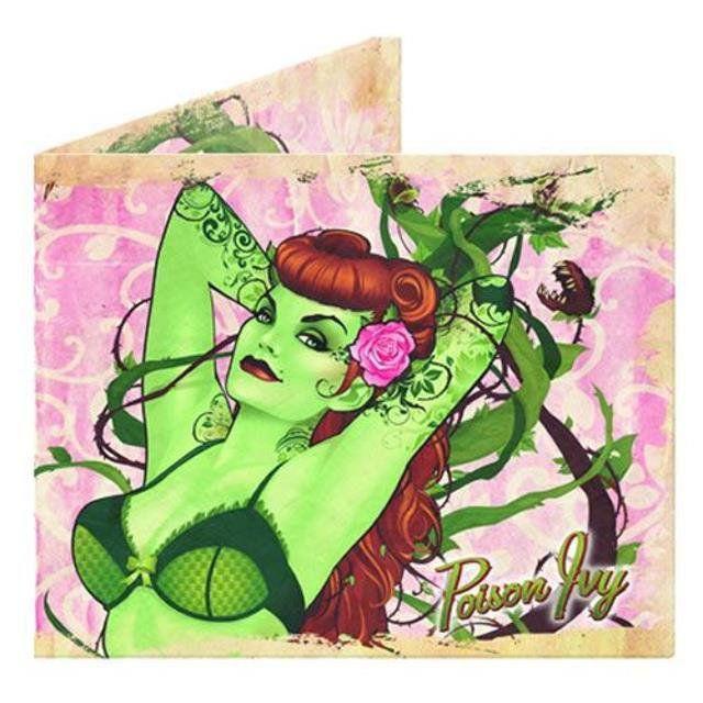 Bombshells Poison Ivy Wallet - DC Comics