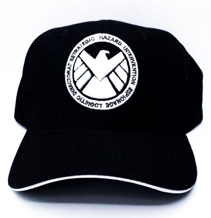 Boné Aba Curva Agentes da S.H.I.E.L.D