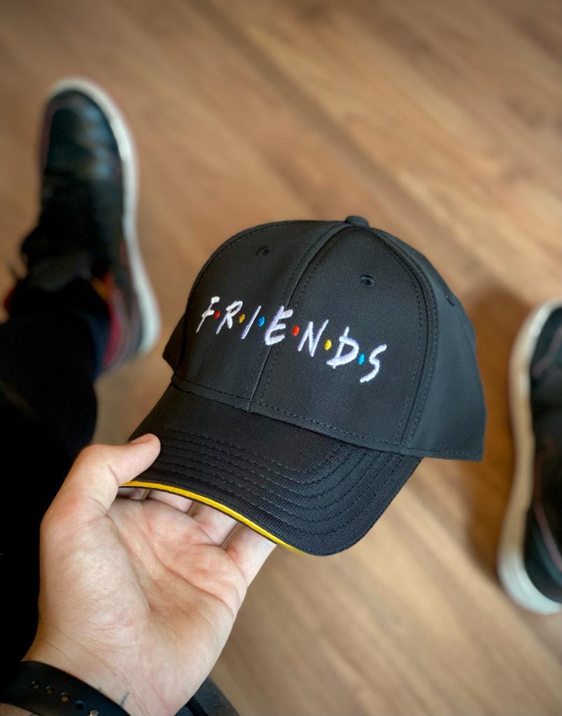 Boné Aba Curva: Amigos