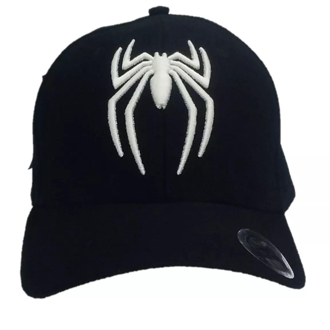 Boné Aba Curva Aranha: Homem Aranha