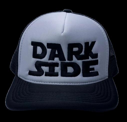 Boné Aba Curva: Dark Side (Cinza e Preto)